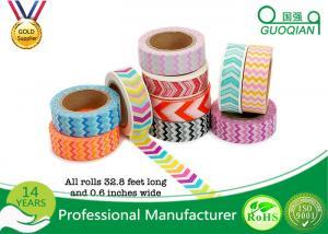 China Los artes hacen/los artes cinta adhesiva decorativa de Washi impresión de encargo para la caja de regalo on sale