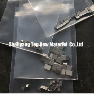 China Sawmill Cobalt Chrome Alloy Tipped Bandsaw / Gangsaw Blades Tips Cobalt Chrome Alloy Mateiral on sale