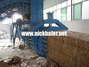 China Scrap Paper Recycling Baler Press,Scrap Paper hydraulic baling press,Waste Paper Baler,Waste Paper baling machine on sale