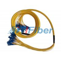 China 24 Fiber Breakout Fiber Optic Patch Cord , Universal Fiber Optic Jumper on sale