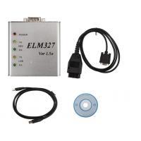 ELM 327 1.5V USB metal ELM CAN-BUS Scanner ELM327 Software