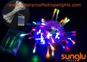 China Beautiful Decorative LED String Lights , Indoor Party String Lights For House Christmas on sale