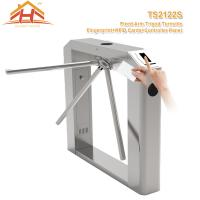 Semi Automatic Tripod Barrier Gate , 3 Arm Turnstile No Exposed Screws Or Fasteners