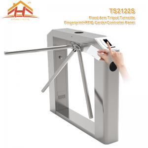 China Semi Automatic Tripod Barrier Gate , 3 Arm Turnstile No Exposed Screws Or Fasteners on sale