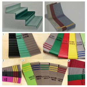 China Rubber / PVC Flooring Accessories Integral Stair Step Non - Slip Easy To Clean on sale