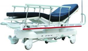 China Patient Transport Stretcher With 150kgs , CPR Handle , Rise - And - Fall Guide Wheels on sale
