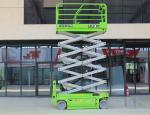 Electric working height 14m with 320kg capacity hydraulic scissor lift for maintenance