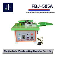 FBJ-505A portable manual mini curvilinear and linear edge banding machine