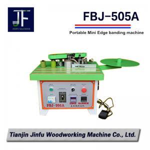China FBJ-505A portable manual mini curvilinear and linear edge banding machine on sale