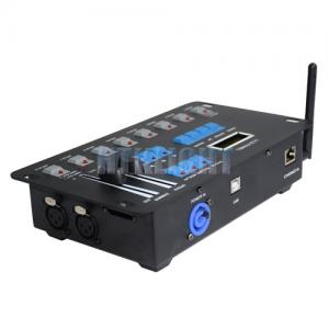China Durable DMX LED Controller Assembly Program Recorder Player Signal Transmitter 6W on sale