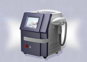 China No Pain Q Switched Nd Yag Laser Tattoo Removal Machine 1064nm / 532nm 300W on sale