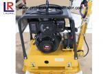 Compresor de la placa vibrante de la gasolina de la construcción de carreteras con control hidráulico