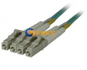 China 10GB 50 125UM Fiber Optic Network Cable LC To LC 2 Meter Length on sale