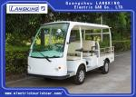 Four Passenger Electric Luggage Cart  With ADC Motor And Cargo Box Low Speed