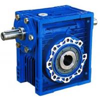 China 75:1 Ratio High Efficiency / Torque NRV Series Worm Gear Reduction Box 1400Rpm on sale