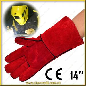 China leather welding glove on sale