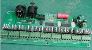 China 27 channel easy DMX LED controller;dmx decoder& driver, DC7~24V Max 15A on sale