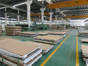 China Alloy 317L Stainless Steel Sheet Bending Cold Rolled 2B SUS317L / 1.4438 on sale