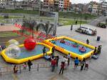 China rectangular inflatable pool inflatable ball pool wholesale