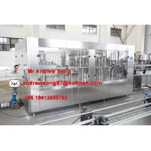 China juice bottle filling capping and labeling machine on sale