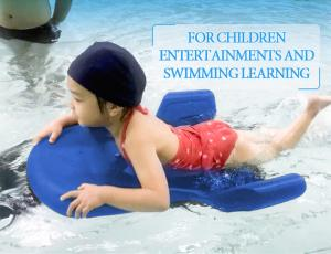 China DC 24V Swimming Learning Board , Kids Play Equipment For Children Entertainment on sale
