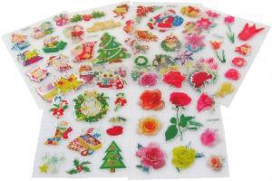 China kids cute cartoon epoxy sticker on sale