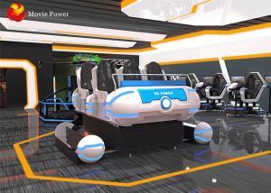 China Entertainment  interactive game VR mobile cinema 9d VR 6dof motion platform simulator on sale