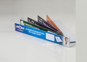 China High quality Acrylic Shelf Labels With Delicate Printing Supermarket  or Grocery Store on sale