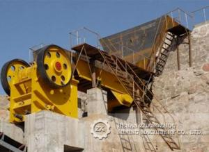 China High efficient limestone, ore, rock stone crushing plant for sale on sale