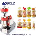 Korea Snack Magic Pop Crispy  Puffed Rice Cake Making Machine