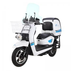 China Pizza Delivery Electric Motor Scooters For Adults 1200W DC Brushless Motor on sale