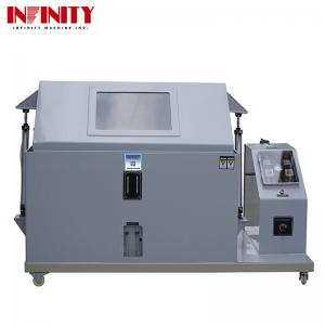 China Gray Color Environmental Test Chambers Salt Spray Test Machine For Coating Corrosion Resistance on sale