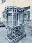 1500L Water Tank Casting Rotomolding Molds With Steel Frame Works