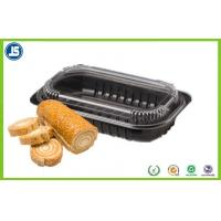 Cookies / Biscuits / Biscotti Plastic Blister Packaging Black & Transparent PP