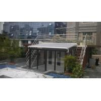 balcony retractable awning, aluminium retractable awning, high quality conservatory awning, perloga