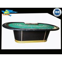 Waterproof Fod Poker Casino Baccarat Table For 9 Player 102 Inch