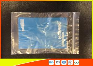 Quality Health Repeat Sealed Recycling Industrial Ziplock Bags Gravure Printing Surface Handling for sale
