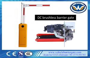 China Parking Lot Gate Arms Vehicle Barrier Gate With DC Brushless Motor on sale