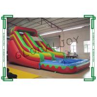 Bounce House Inflatable Slip and Slide Silk Printing 9m x 4m x 4.8m