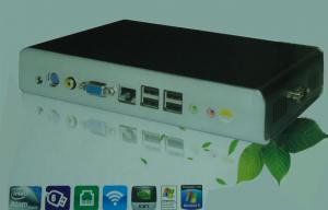 China Windows XP Thin Client Mini PC 1080P HD , X87 Atom Dual Core PC Terminal on sale