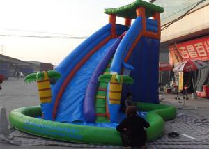 China Outdoor Tree House Big Splash Inflatable Super Slide Clearance on sale