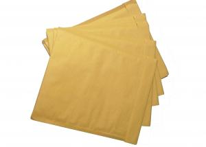 China Golden Kraft Bubble Mailers 6 X 9 Bubble Envelopes With Hot Melt Adhesive Tape on sale