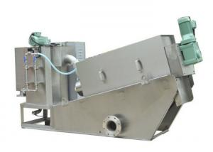 China Stainless steel screw press dewatering machine for sludge treatment on sale