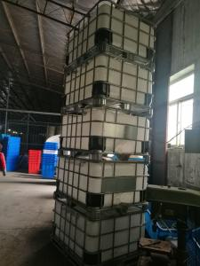 500L IBC tank type plastic tank with metal frame for agricultural