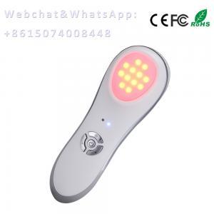 China photon led skin rejuvenation portable Vibration +Photo LED therapy beauty product on sale