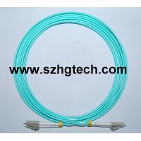 China LC OM3 Fiber Optic Cable on sale