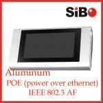 Tableta androide de aluminio de las pantallas táctiles de Embeded POE