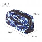 Camouflage Pattern Foldable Cosmetic Organizer Bag Storage For Lady