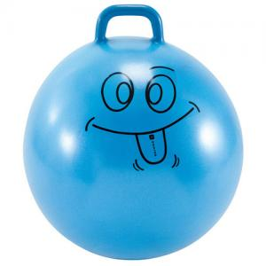 China PVC Jumping Loop Handed Space Hopper Ball Inflated Jumping Ball Custom Logo on sale