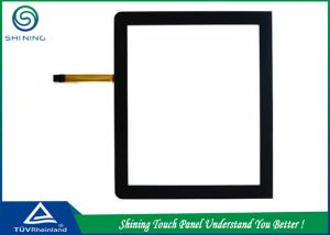 China High Definition 5 Wire Resistive Touch Panel Sensor 4/3 Ratio Dust Prevention on sale